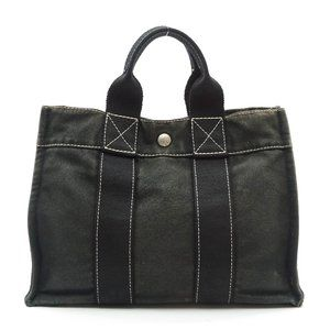 Auth Hermes Sac Deauville Pm Tote Bag #N736RSA33